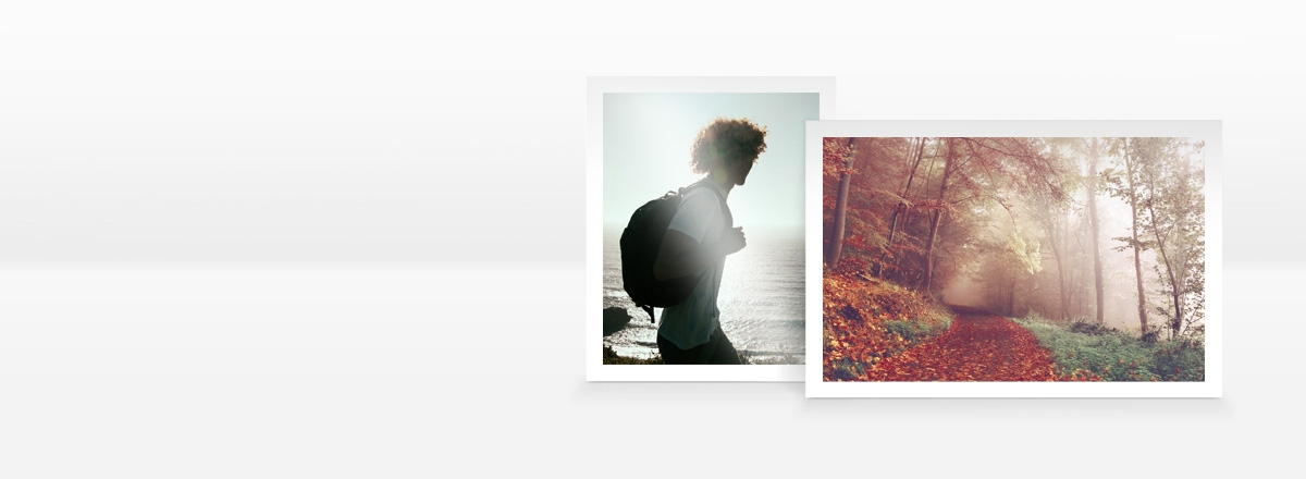 Photos avec marge blanche