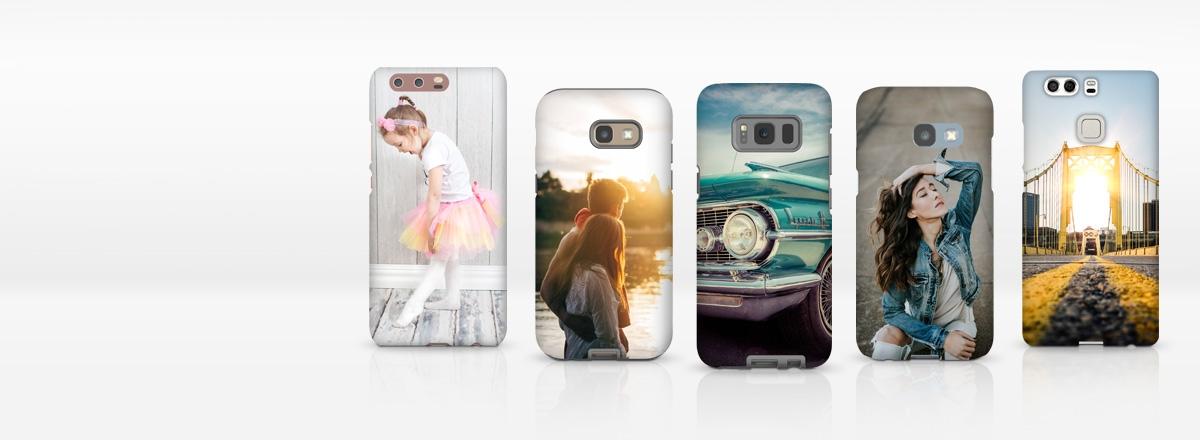 Coques téléphone pour nouveaux modèles Samsung, iPhone et Huawei